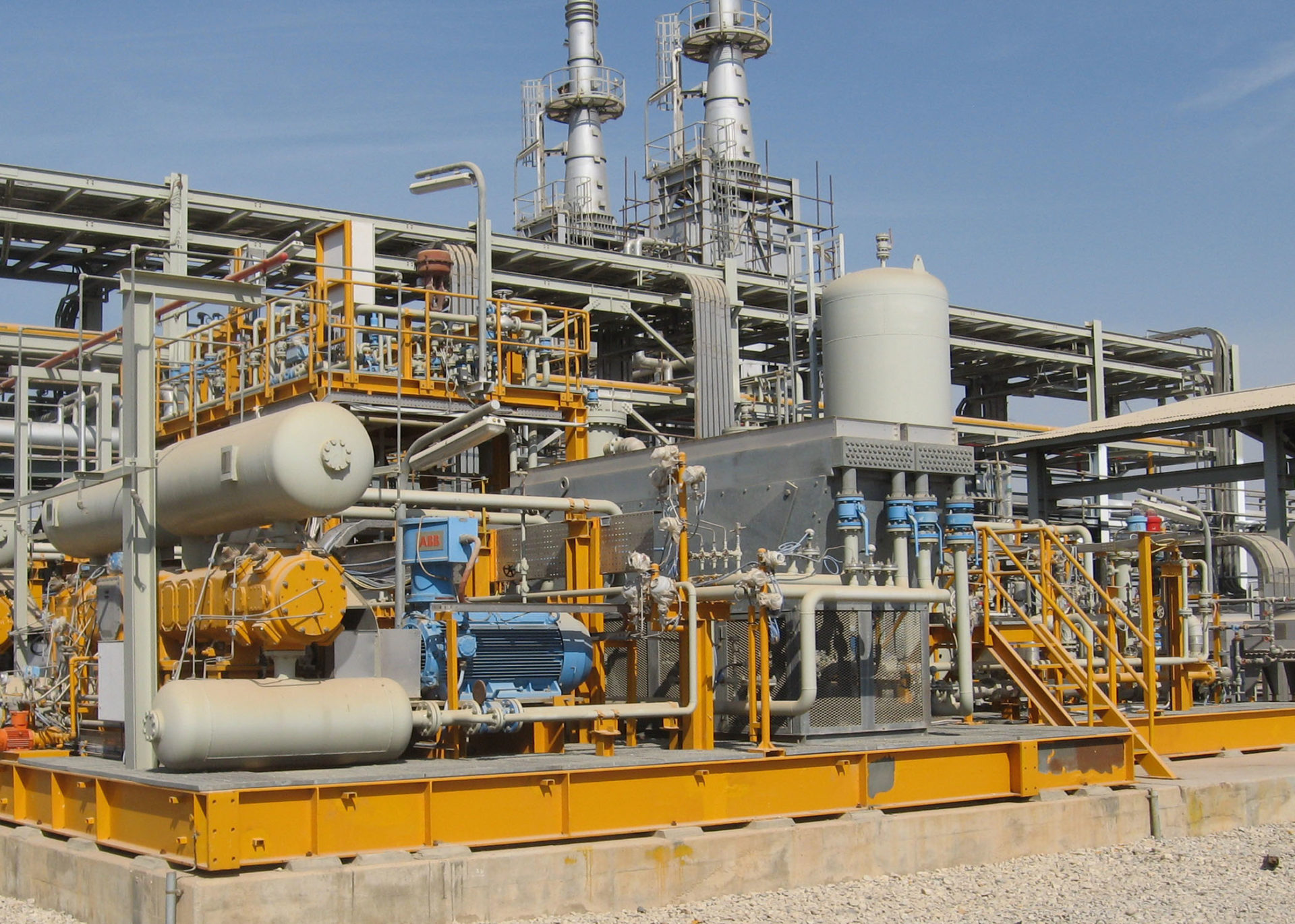 Gas compression solutions