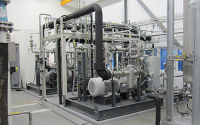 Biogas-to-CNG Compression